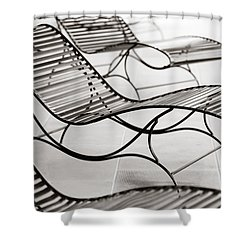 Relaxation Shower Curtain by Marilyn Hunt