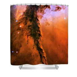 Release - Eagle Nebula 1 Shower Curtain by The  Vault - Jennifer Rondinelli Reilly