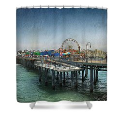 Remember Those Days Shower Curtain by Laurie Search