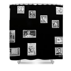 Remember When Shower Curtain by Kathleen Struckle