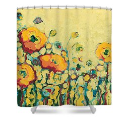 Reminiscing On A Summer Day Shower Curtain by Jennifer Lommers