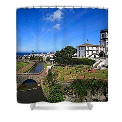 Ribeira Grande - Azores Islands Shower Curtain by Gaspar Avila
