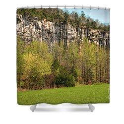Roark Bluff Shower Curtain by Tamyra Ayles