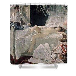 Rolla Shower Curtain by Henri Gervex