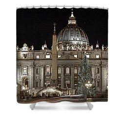 Rome Vatican Shower Curtain by Joana Kruse