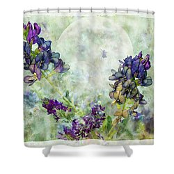 Rose Knows Shower Curtain by Ed Hall
