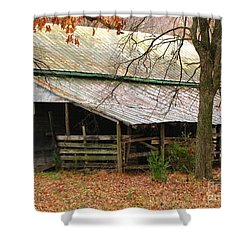 Rural Shower Curtain by Amanda Barcon