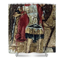 Russian Icons: Michael Shower Curtain by Granger