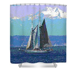 Sailors Delight Shower Curtain by Tim Allen