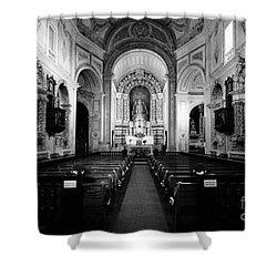 Saint Peter Church Shower Curtain by Gaspar Avila