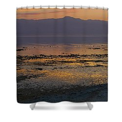 Salton Shower Curtain by Skip Hunt