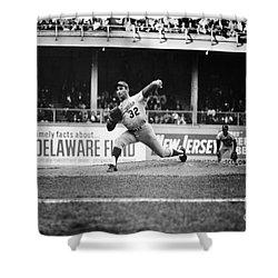Sandy Koufax (1935- ) Shower Curtain by Granger