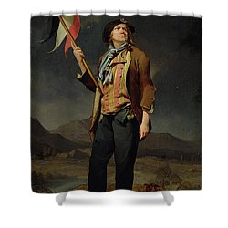Sans Culotte Shower Curtain by Louis Leopold Boilly