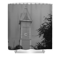 Save The Clock Tower Shower Curtain by Rob Hans