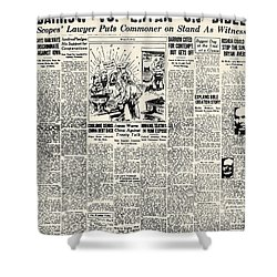 Scopes Trial, 1925 Shower Curtain by Granger