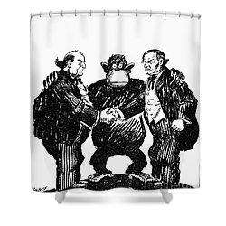 Scopes Trial Cartoon 1925 Shower Curtain by Granger