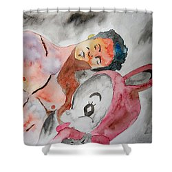 Scott Weiland - Stone Temple Pilots - Music Inspiration Series Shower Curtain by Carol Crisafi
