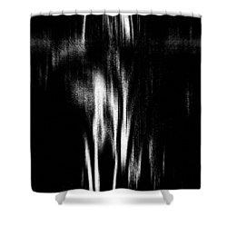 Scream Shower Curtain by Charleen Treasures