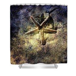 Sea Star Shower Curtain by Susanne Van Hulst