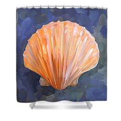 Seashell I Shower Curtain by Jai Johnson