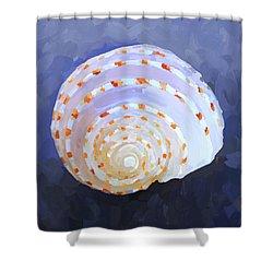 Seashell Iv Shower Curtain by Jai Johnson