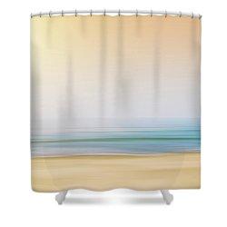 Seashore Shower Curtain by Wim Lanclus