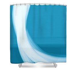 Shower Curtain featuring the painting Seaview by Frank Tschakert
