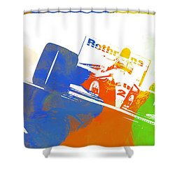 Senna Shower Curtain by Naxart Studio