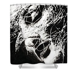 Sensations Shower Curtain by Richard Young