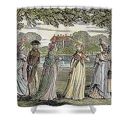 Sense & Sensibility, 1811 Shower Curtain by Granger