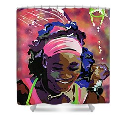 Serena Shower Curtain by Chelsea VanHook