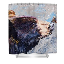 Serendipity Shower Curtain by J W Baker