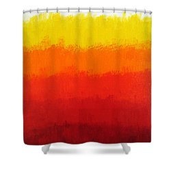 Seventh Shower Curtain by Oliver Johnston