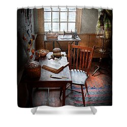 Sewing - I Dream About The Ocean  Shower Curtain by Mike Savad