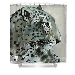 Shadow Shower Curtain by Mark Adlington