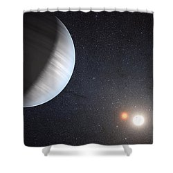 Sharing Two Suns Shower Curtain by Movie Poster Prints
