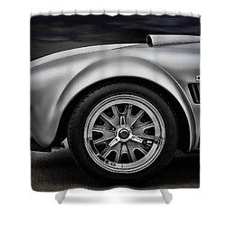 Shelby Cobra Gt Shower Curtain by Douglas Pittman