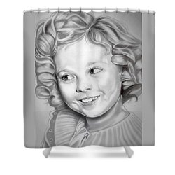 Shirley Temple Shower Curtain by Fred Larucci