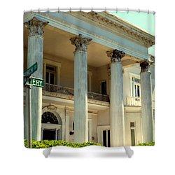 Simply Charleston Shower Curtain by Karen Wiles