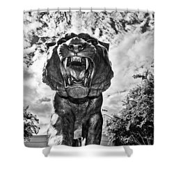 Sir Mike Shower Curtain by Scott Pellegrin