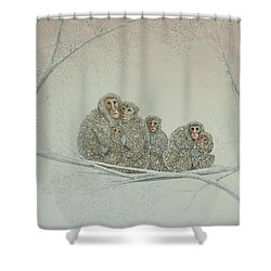 Snowed Under Shower Curtain by Pat Scott