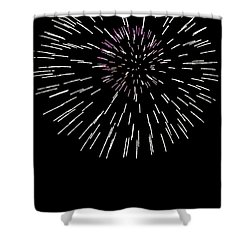 Snowflake Shower Curtain by Phill Doherty