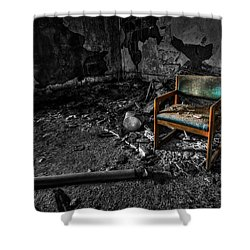 Sole Survivor Shower Curtain by Evelina Kremsdorf