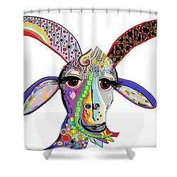 Somebody Got Your Goat? Shower Curtain by Eloise Schneider