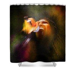 Soul Scream Shower Curtain by Miki De Goodaboom