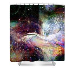 Soul Vibes Shower Curtain by Linda Sannuti