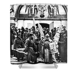 Soviet Anti-religion Policy Shower Curtain by Granger