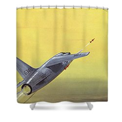 Sparrow Air To Air Missile  Shower Curtain by American School