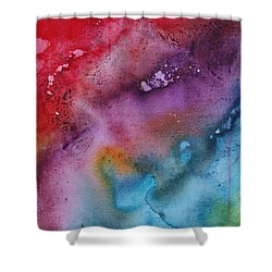 Speak To Me 2 By Madart Shower Curtain by Megan Duncanson