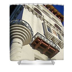 St. Augustine Spanish Colonial Ornate Shower Curtain by Patricia Taylor